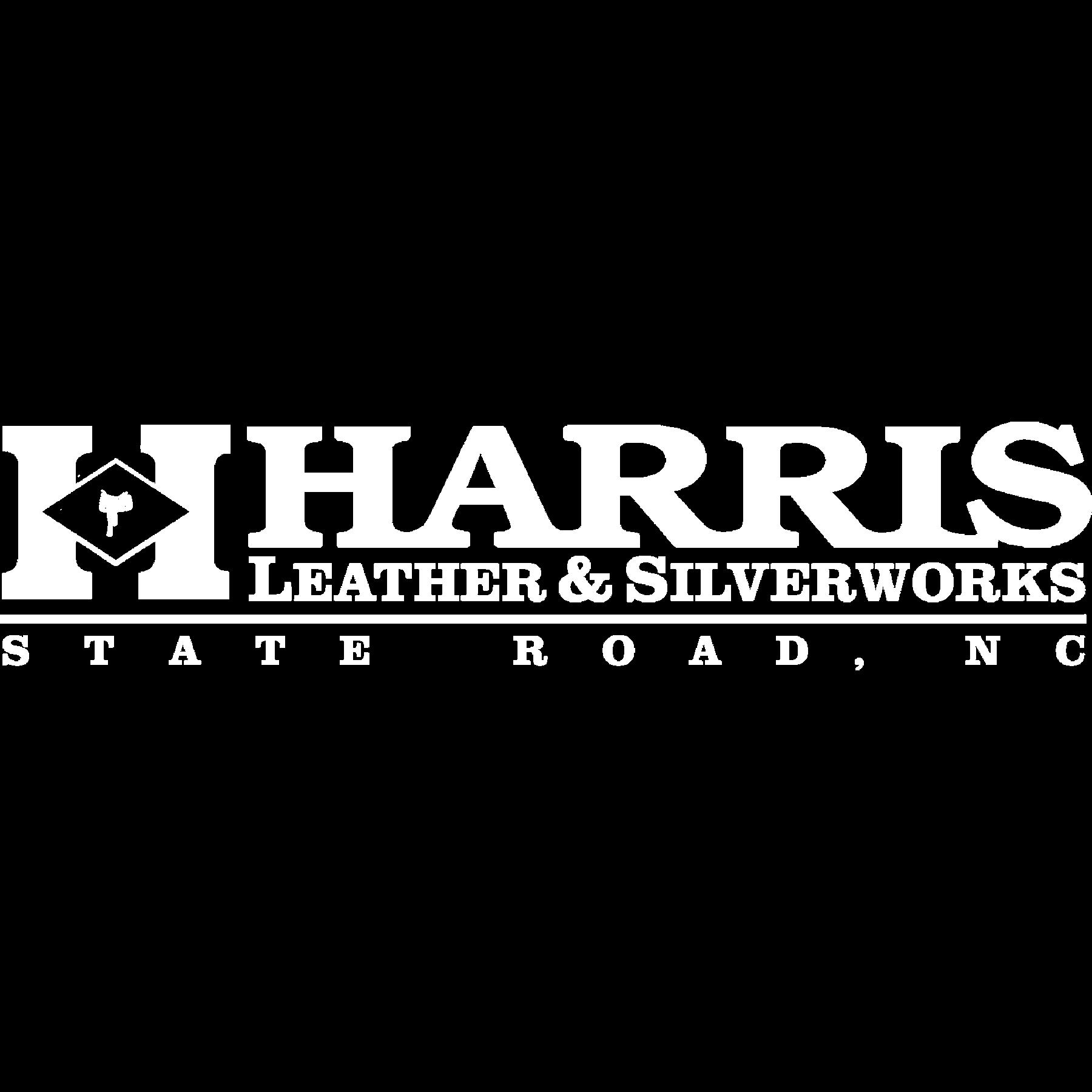 Harris logo in all white