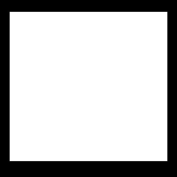 The Born Legacy stallion logo in all white